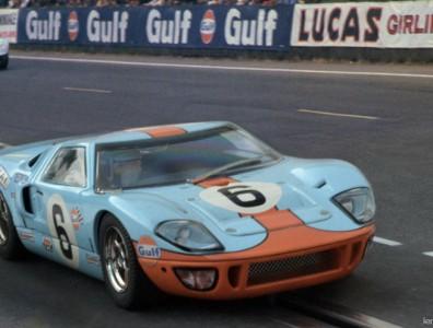 24 heures du Mans 1969 - Ford GT40 #6 - Pilotes : Jacky Ickx / Jackie Oliver,- 1er