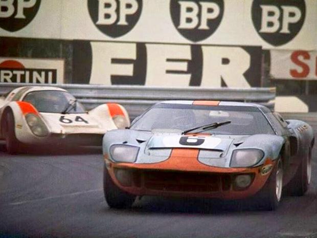 Le fantastique duel Ford - Porsche des 24 heures du Mans 1969