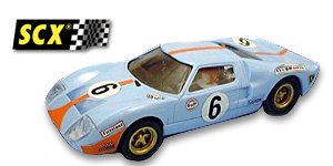 Ford GT40 n°6 SCX Le Mans 1969