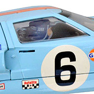 Ford GT40 Scalextric - Le casque de Jacky Ickx