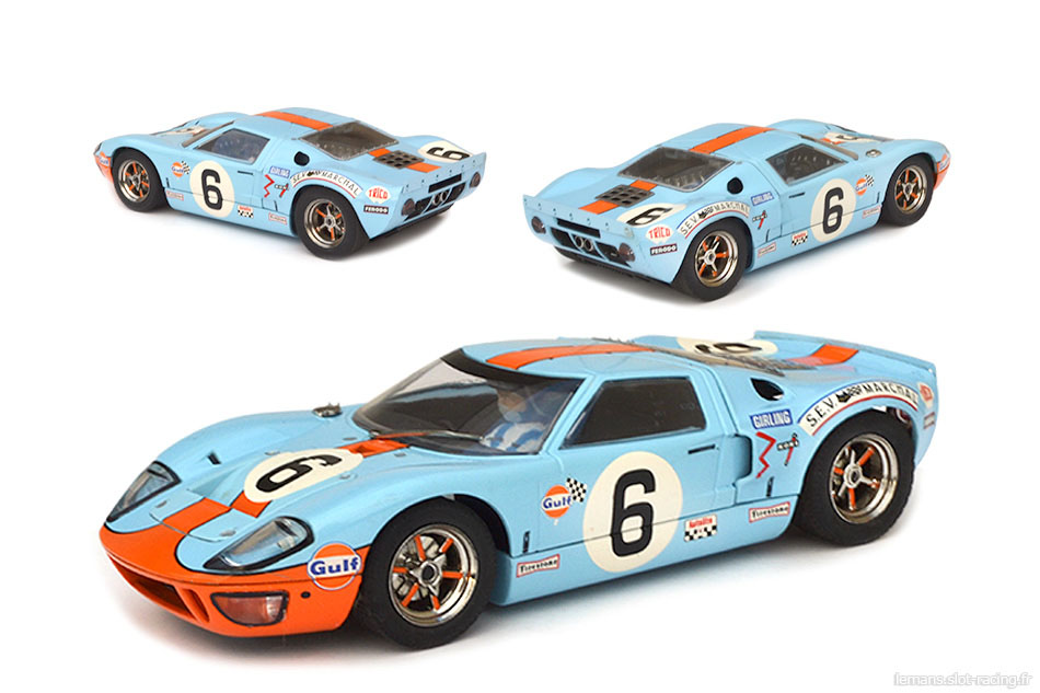 Ford GT40 Scalextric C2404