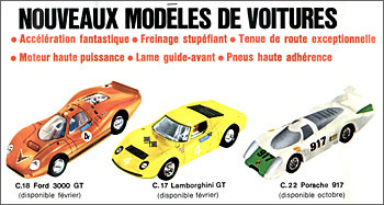 Catalogue Scalextric 1970