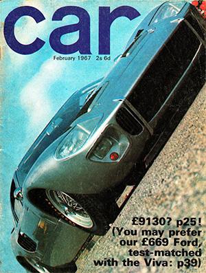 Couverture de la revue Car février 1967