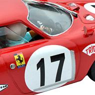 Ferrari 250 LM Fly F053105 - Détails de la décoration