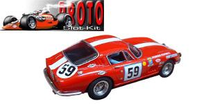Ferrari 275 GTB/C n°59 PSK Le Mans 1965