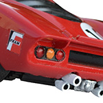 Ferrari 312P TKP TK8 - Détails de la face arrière