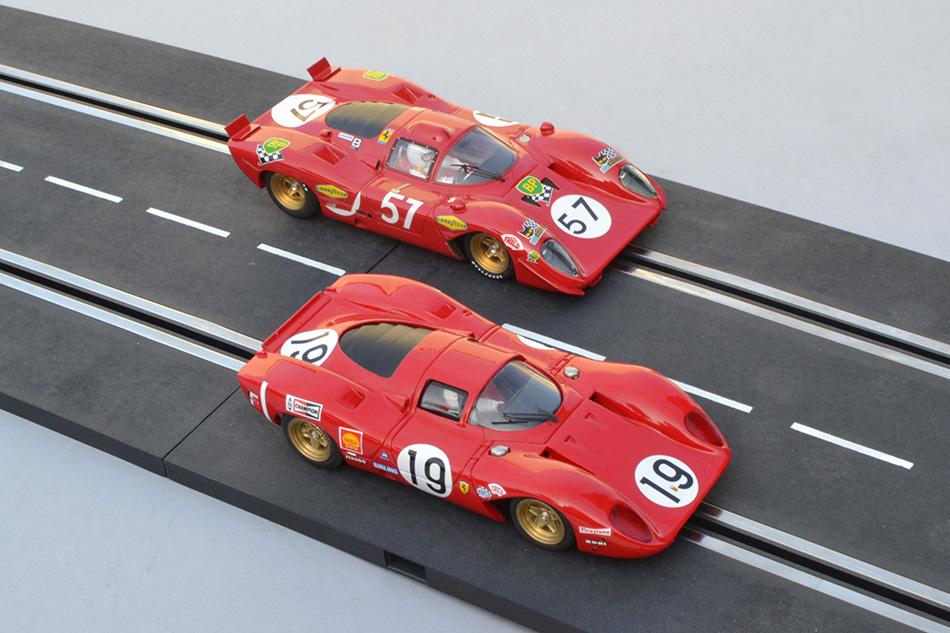 Ferrari 312 P Racer le Mans 1970 et TKP le Mans 1969