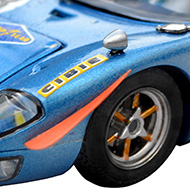 Ford GT40 Scalextric - Détail des volets avant