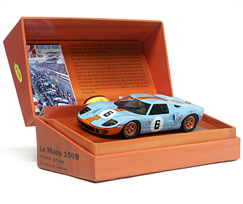 Ford GT40 n°6 Slot.it Le Mans 1969