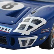Ford GT40 Scalextric - Détails des phares