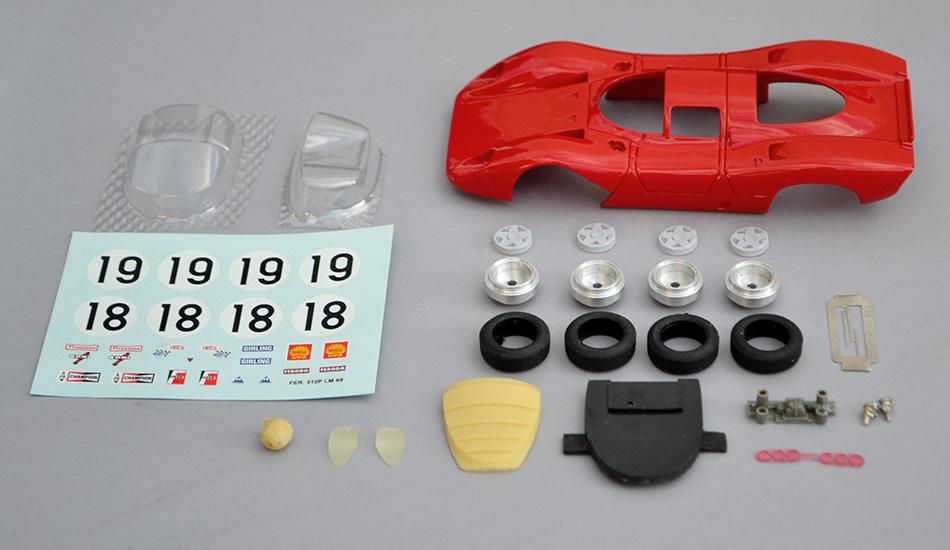 Kit Ferrari 312P TKP TK8