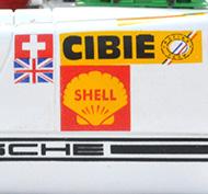 Porsche 908/02 Fly C47 - Détails de la décoration