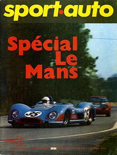Sport Auto spécial 24 heures du Mans1969
