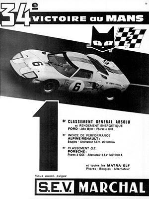 Victoire au Mans 1969