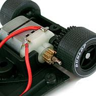 Porsche 908 Fly SM02 - Le moteur transversal