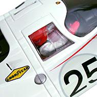 Porsche 917L Fly A1401 - Détails du pilote et de son casque