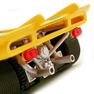 Ferrari 512S FLY C02 - Détails de l'arrière