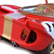 Ferrari 512S FLY C24 - Détails de l'arrière