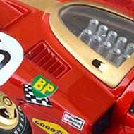 Ferrari 512S FLY C24 - Détails de la décoration