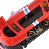 Ferrari 512S FLY C26 - Détails de la face arrière