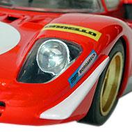 Ferrari 512S FLY C27 - Détails des déflecteurs avant