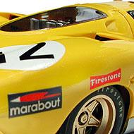 Ferrari 512S FLY C28 - Détails des roues