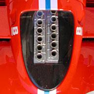Ferrari 512S FLY C29 - Détails des trompettes d'admission