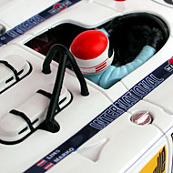 Porsche 908/02 Fly C49 - Détails du pilote et des admissions d'air