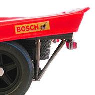 Porsche 917K Fly C53 - Détails des feux arrière et de la roue de secours