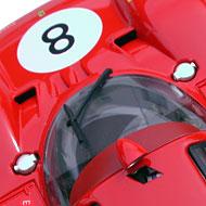Ferrari 512S FLY C71 - Détails du pavillon