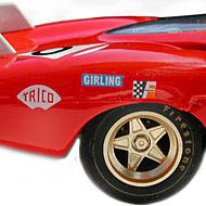 Ferrari 512S FLY C72 - Détails des roues arrières