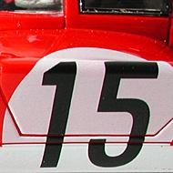 Ferrari 512S FLY Team 002 - Détails de la décoration