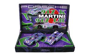 Coffret Fly Historical Teams, Porsche 917 Martini 24H Le Mans 1970 #3, Porsche 917 Martini #31 Monza 2004