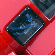 Ferrari 512S FLY W04 - Détails de l'habitacle sans pilote