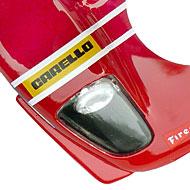 Ferrari 512S FLY W04 - Détails de la décoration avant