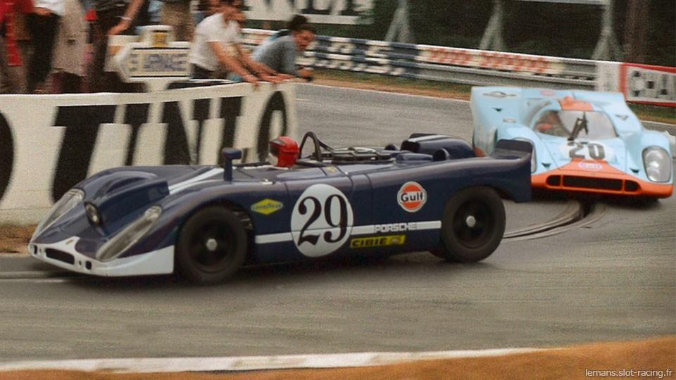 24 heures du Mans 1970 - Porsche 908 #29 - Pilotes : Herbert Linge / Jonathan Williams - Non classé