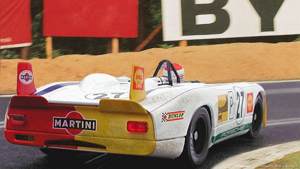 24 heures du Mans 1970 - Porsche 908/02 #27 - Pilotes : Helmut Marko / Rudi Lins - 3ème