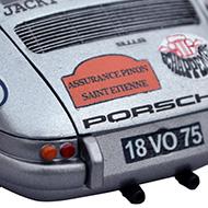Porsche 911S - Détails de la décoration