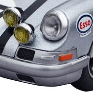 Porsche 911S - Détails des phares longue portée