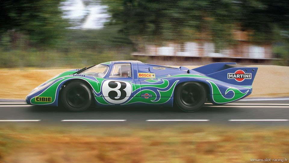24 heures du Mans 1970 - Porsche 917L #3- Pilotes : Gérard Larousse / Willy Kauhsen - 2ème