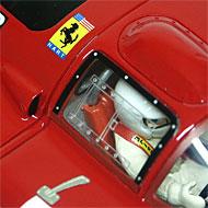 Ferrari 312P Racer RCR49 - Détails du poste de pilotage