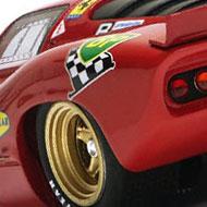 Ferrari 312P Racer RCR49 - Détails de l'aile arrière gauche