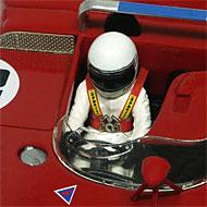 Alfa-Roméo T33/3 Racer RCR53D - Détails du poste de pilotage