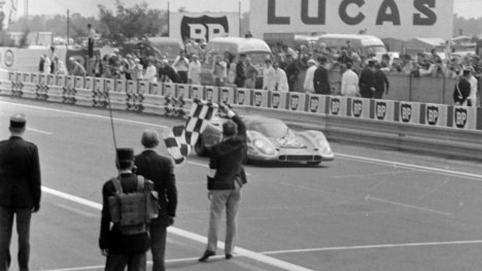 L'arrivée des 24 heures du Mans 1970