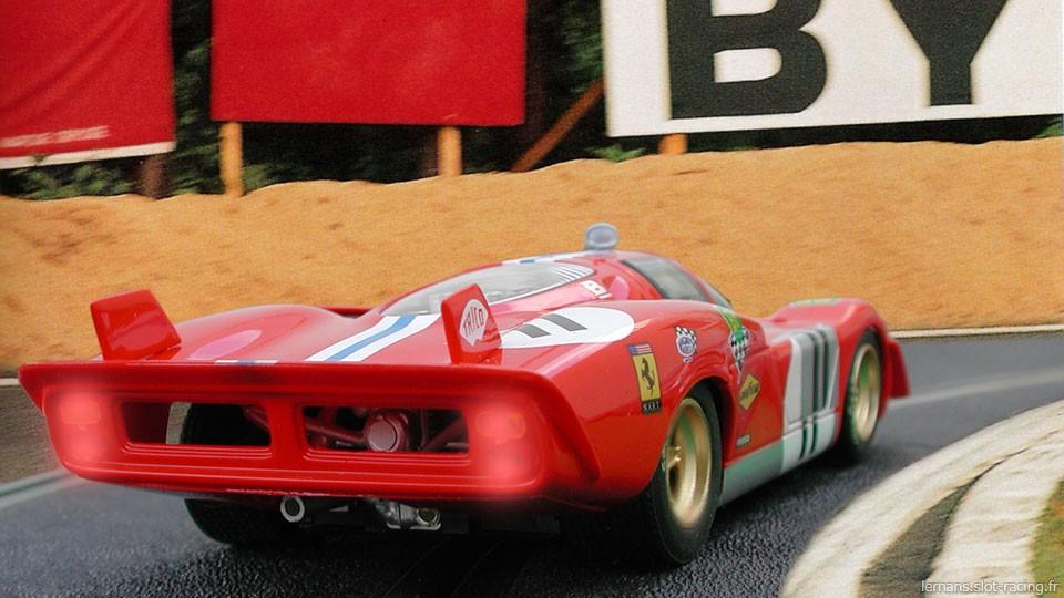 24 heures du Mans 1970 - Ferrari 512S #11- Pilotes : Ronnie Bucknum / Sam Posey - 4ème