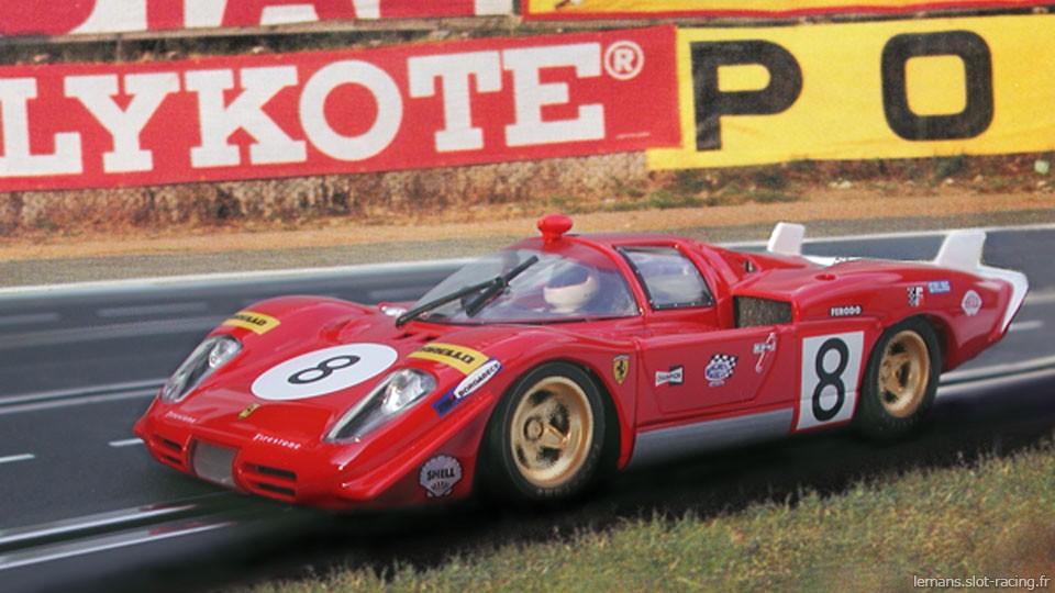 24 heures du Mans 1970 - Ferrari 512S #8- Pilotes : Arturo Merzario / Clay Regazzoni - Abandon
