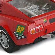 Ligier JS1 PSK - Détails de la face arrière