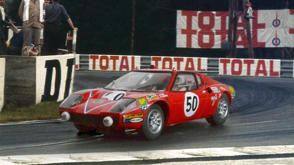24 heures du Mans 1970 - Ligier JS1 #50 - Pilotes : Guy Ligier / Jean-Claude Andruet - Abandon