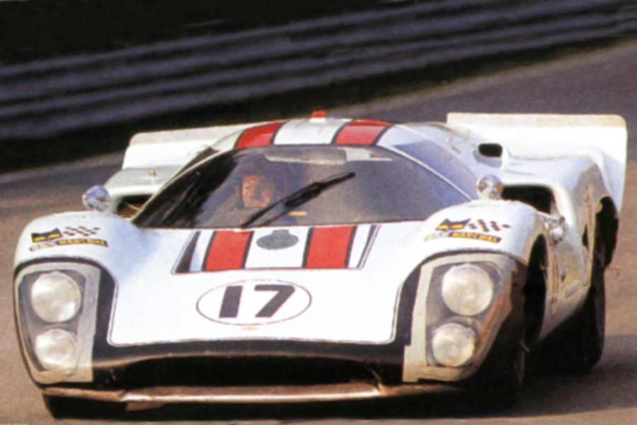 24 heures du Mans 1970  - Lola T70 #17- - Pilotes : Robin Ormes /  David Prophet - Non qualifiée