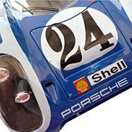 Porsche 917K Fly C53 - Détails du capot avant phares